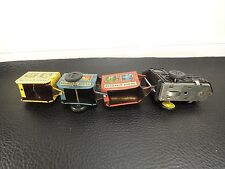 Vintage Windup Tin Toy Zig Zag Classic Circus Train USSR