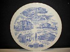Vintage Collector Plate Louisiana By Vernon Kilns10 1/4''