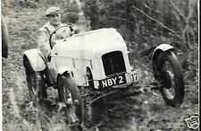 MARENDAZ TRIALS CAR NBY 2 PERIOD PHOTOGRAPH JOHNSON H V PAYNE CAR KENTISH BORDER