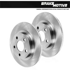 Rear 300 mm Brake Rotors For Audi A4 A5 Quattro Cabriolet Convertible Coupe