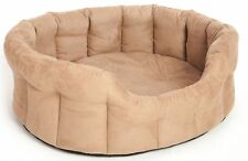 Suede Machine Washable Dog Beds
