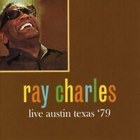 Ray Charles - Live Austin Texas '79 (2016)  CD  NEW/SEALED  SPEEDYPOST