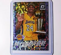KOBE BRYANT 2017-18 Donruss Optic The Champ is Here #6 Silver Disco Prizm 🔥📈