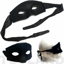 EYE MASK FANCY DRESS COSTUME PROP THIEF BANDIT ZORRO MASQUERADE NEW YEAR BALL