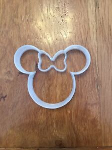 Minnie Mouse Ears Cookie Cutter