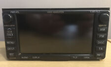 GENUINE TOYOTA B9010 SAT NAV NAVIGATION HEAD UNIT SCREEN  AVENSIS