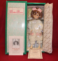 """14"""" Dianna Effner's Good Little Girl With A Curl Doll,Mother Goose By Knowles."""