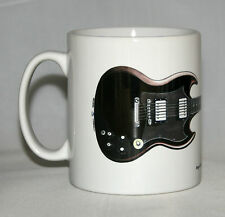 Guitar Mug. Angus Young's Gibson SG illustration.
