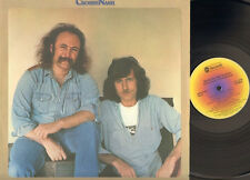 DAVID CROSBY GRAHAM NASH Whistling Down the Wire LP LYRICS-PHOTO  David Lindley
