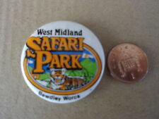 Vintage - West Midland Safari Park Bewdley Worcs Badge Pin Button