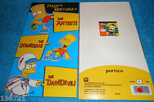 "THE SIMPSONS  ""BART SIMPSON""  BIRTHDAY CARD BRAND NEW"