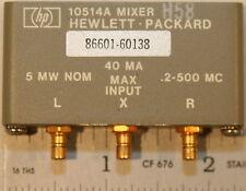Agilent / HP 10514A/86601-60138 H58 Dbl Bal Mixer 0.2-500 MHz