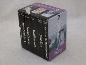 ROMANCE CLASSICS 6 Vol Box Set Middlemarch Jane Eyre Mansfield Park Agnes Grey