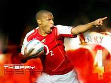 HENRY THIERRY LEGEND AND ALL HIS 226 GOALS FOR ARSENAL DVD FREE SHIPPING