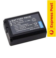 1500mAh Battery for Sony NP-FW50 Alpha A3000 A3500 A5000 A6500 A6000