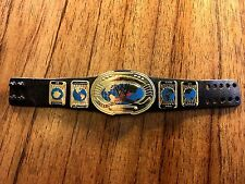WWE Intercontinental Championship Title Belt Mattel Elite Figure Oval IC Shiny