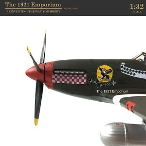1:32 21st Century Toys Ultimate Soldier US Air Force P-51 Mustang Fighter Plane