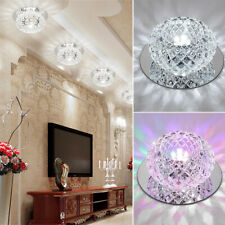 Crystal Chandelier LED Recessed Light Ceiling Lights Spot Aisle Lamp Spotlights
