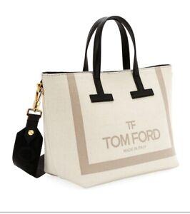 TOM FORD TOTE BAG CANVAS SHOULDER STRAP SOLD OUT T BAG