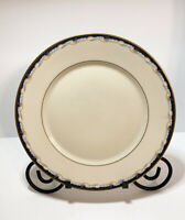"Lenox Metropolitan Collection Golden Gate Dinner Plate Made In USA 10.75"" Dia"
