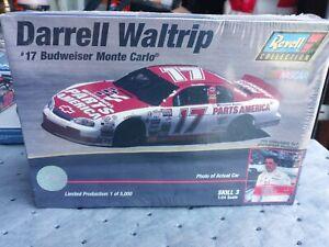 Revell Darrell Waltrip #17 Budweiser Monte Carlo 1:24 Scale Model - NEW