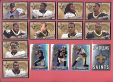 2011 Panini New Orleans Saints Sticker Set DREW BREES REGGIE BUSH MARK INGRAM