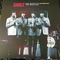 THE BEATLES -  SHOUT - RED/GREEN MIX VINYL LP - NEW &  UNPLAYED - 100 ONLY !