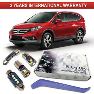 Honda CR-V LED Interior Kit Full Premium 8 SMD Set White Error Free Bulbs MK IV