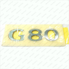 "86310 B1500 Genuine ""G80"" Trunk Emblem for 2017 Hyundai Genesis G80"