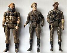 1981 Vintage Mego Eagle Force Metal Action Figures Lot of 3 Original