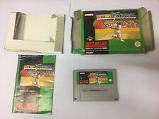 Super International Cricket for SNES, Complete with Box/Manual, , Free UK Post