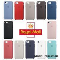 Genuine Apple Original Silicone Protective Case- iPhone 6,6s,7,8, X (10) & Plus