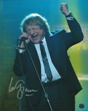 Lou Gramm Signed Photo COA Rock Singer Songwriter Lead Singer of Foreigner