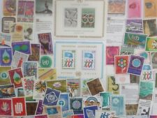 50 Different Swiss United Nations Stamp Collection