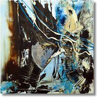 """Wandbild Gemälde """"Abstrakt """" Acrylmalerei Handmalerei Art. Nr. 821"""