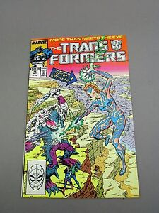Transformers G1 Comic Monstercon from Mars! Issue #45 Marvel 1988