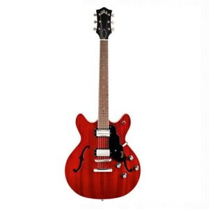 Guild Starfire I DC Semi-Hollow Electric Guitar - Cherry Red