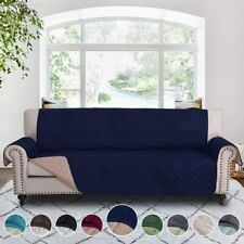 """New Listing78"""" Reversible Cover for Extra-Wide Couch Sofa Slipcover Pets Hair Kid Protector"""