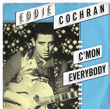 "Eddie Cochran - C'Mon Everybody 7"" Single 1984"