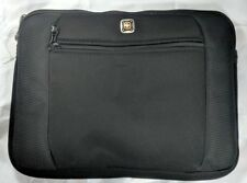 SWISS GEAR IPAD Netbook Sleeve WENGER LUNAR GA-7623-02F00 Black Padded SwissGear