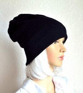 Hand made 100% cashmere unisex hat