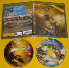 SCONTRO TRA TITANI - 2 Dischi (Sam Worthington, Liam Neeson) Blu Ray »»»»» USATO