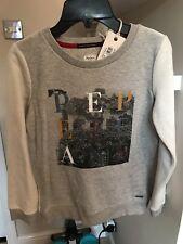 BARGAIN SALE Pepe Jeans London Art Sweat 10 ans RRP £ 48.99 BNWT