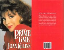 JOAN COLLINS - New (Unread) UK Hardback Edition PRIME TIME 1988 - SIGNED TO PAUL