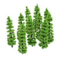10pcs Model Tree Train Railroad War Scenery Diorama Park Layout HO N Scale