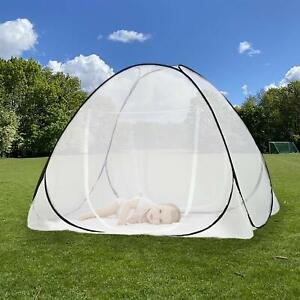 Insektenschutz Faltbare Moskitonetz Mosquitonetz für Haus Betten Doppelbett