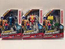 Hero Mashers -Transformers set of 3- Autobot Drift, Strascream & Autobot Springe