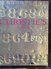 Christie's Gold Rush Treasures from the SS Central America sale cat US gold bars