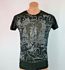 Monterey Bay Aquarium California Black Silver Glitter Seahorse T-Shirt M NWT