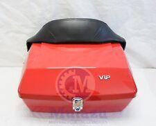 Mutazu Universal Motorcycle Trunk DMY Box with Wrap Around Backrest